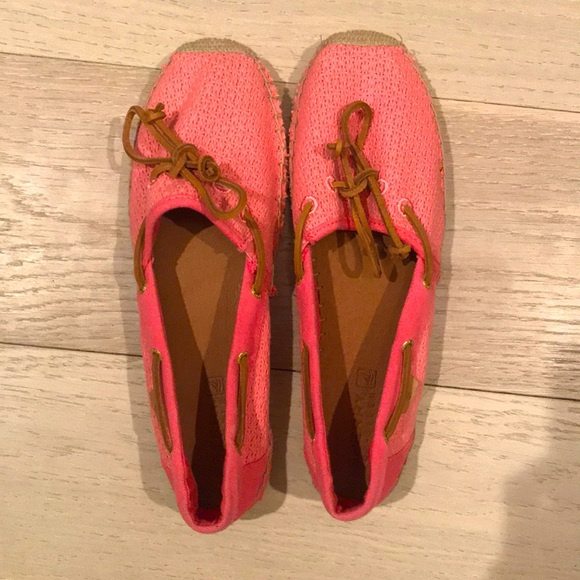 Pink Sperry Top-Sider
